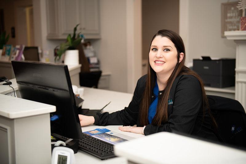 Amanda Blanchard (Receptionist)