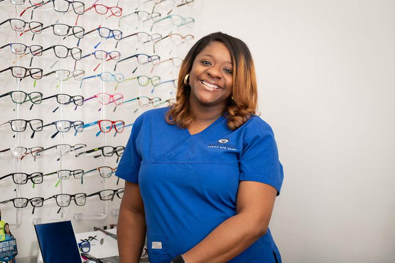 Brittney Triggs (Optician)